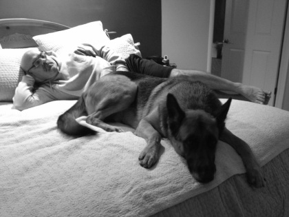 寝つきの良いコンビ