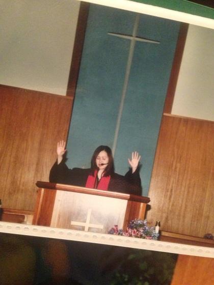10年前の初めての祝祷
