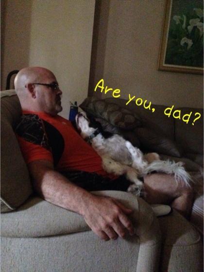 お父さんも幸せ?