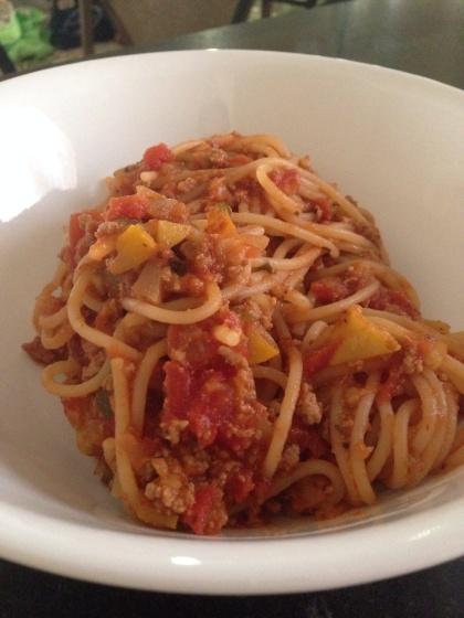 スパゲッティが大好物(笑)