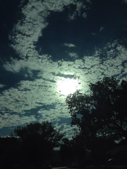 雲が秋っぽい