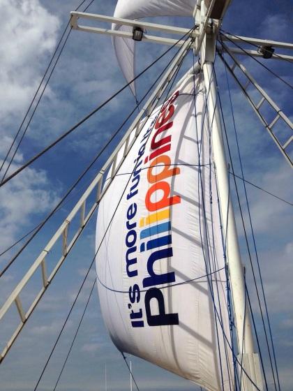 帆がカラフル