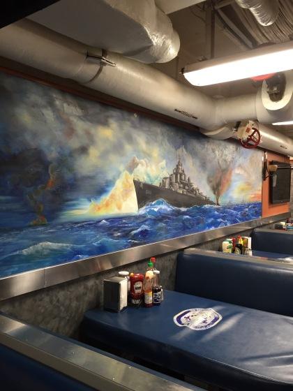 下士官の食堂の絵