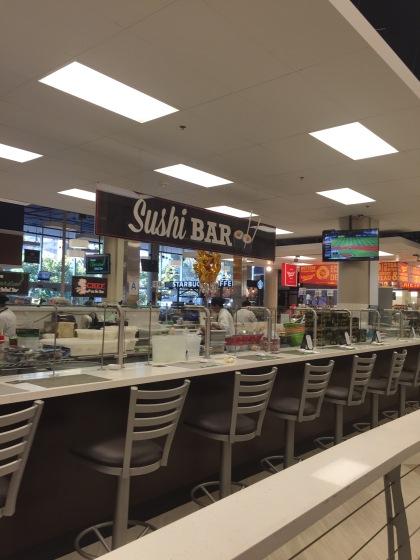 スーパーマーケットの中です